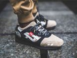 "THE NORTH FACE X ASICS GEL-Lyte III ""The Apex""時尚男款休閒鞋 黑灰色"